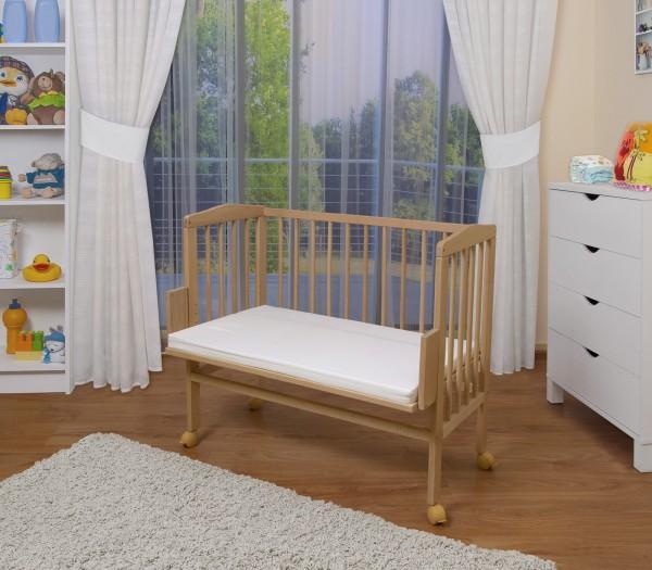 WALDIN Baby Beistellbett mit Matratze | Angebot B-Ware